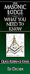 The Masonic Lodge: What You Need to Know - BOOKLET
